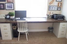 Diy File Cabinet Lovely Desk With File Cabinet Diy U2013 Valeria Pertaining To Amazing