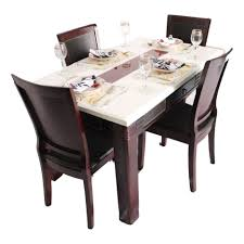 dining tables granite top table round white marble dining table