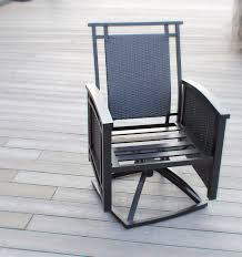 Outdoor Swivel Chair by Palmetto Deep Seating