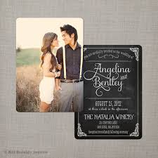 photo wedding invitations reserved for roxywar chalkboard wedding invitation the