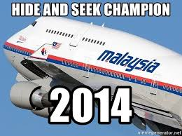Malaysia Airlines Meme - hide and seek chion 2014 malaysian airlines meme generator