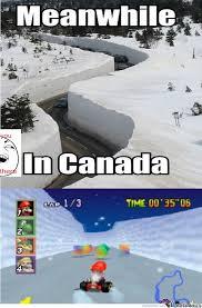 Canada Snow Meme - meanwhile in canada by drickzhie 06 meme center