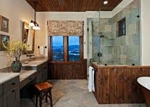 Rustic Bathroom Shower Ideas - 50 enchanting ideas for the relaxed rustic bathroom