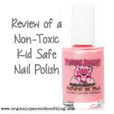 kids in mind the review of a non toxic natural nail polish created with kids