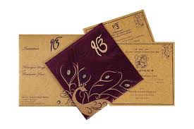 sikh wedding cards wedding card shubhecha