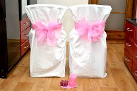 bows for chairs how to tie an organza ribbon bow to a chair 7 steps