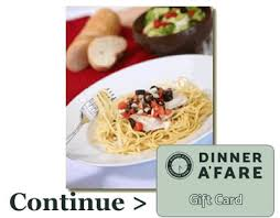 dinner and a gift card the dinner a fare foodie fresh family fast financially friendly