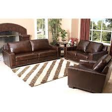Abbyson Leather Sofa Reviews Abbyson Paros Italian Leather Sofa And Loveseat Hayneedle