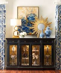 decorating a dining room buffet delightful display accessory vignettes display