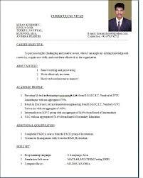 resume sample format resume badak