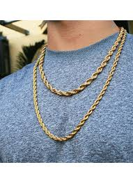 gold chain necklace rope images Chains s v ge luxury wear gif