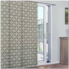 Patio Door Panel Curtains by Patio Door Panel Curtain Track Set Patios Home Furniture Ideas