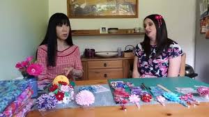 japanese hair ornaments let s learn how to make kanzashi japanese hair ornament