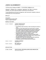 Homey Ideas First Time Resume Templates 6 Teenager How To Write Cv by First Time Resume Templates First Job Resume Template Template