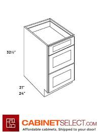what is the depth of a base cabinet l10 vdb12 ha luxor white 12 three drawer base cabinet ada 21 depth vanity