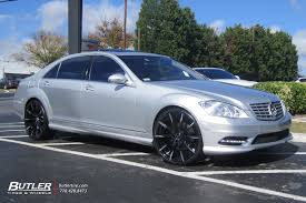 lexus ls 460 on forgiatos mercedes s class vehicle gallery at butler tires and wheels in