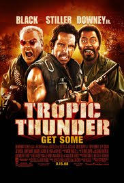 tropic thunder 2008 imdb when do actors stop acting or learn