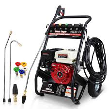 usa design 3800psi electric high pressure washer with floor
