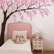 Nursery Room Tree Wall Decals Cherry Blossom Wall Decal With Tree Decal Wall With Branch