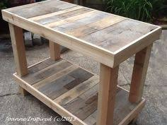 Kitchen Island With Bench Ez 2 X 4 And 2 X 6 Island Or Workbench Diy Pinterest