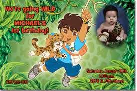 dora diego birthday invitations candy wrappers