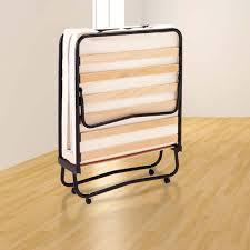 rete con materasso brandina pieghevole con rete a doghe e materasso lga 80 x 190