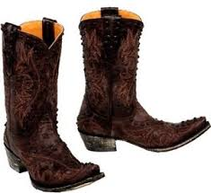 gringo womens boots sale s gringo marcela chocolate brown leather cowboy boots