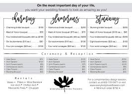 wedding flowers prices wedding flowers everybody flowers