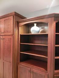 Alder Kitchen Cabinets by Adkisson U0027s Cabinets Cherry Bookcases And Alder Wood Kitchen Cabinets