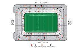 Stadium Floor Plans Information Principality Stadium
