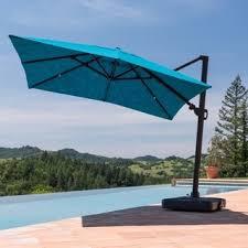 10 Patio Umbrella Corvus Valencia 10 Ft Sunbrella Canopy Patio Umbrella With Base