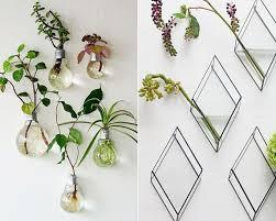 diy wandgestaltung diy vase als wandblumenvasen für kreative wandgestaltung und coole