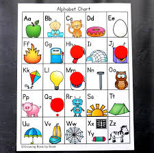 printable alphabet grid printable alphabet chart with pictures cover up alphabet chart