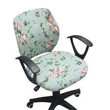 chair coverings computer chair coverings office chair covers flower printed chair