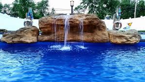 pools with waterfalls tahitian waterfall swimming pool waterfalls universal rocks