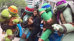 teenage mutant ninja turtles 400 chicagoland danica patrick