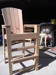 tall deck chair plans woodworking projects u0026 plans wow4wood