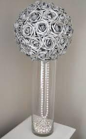 royal blue elegant wedding flower ball wedding by kimeekouture