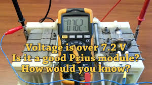 lexus hybrid battery check prius individual module testing with voltmeter for dummies ocv