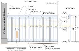 Banister Railing Code Deck Stairs Railing Code A More Decor Railing Denver Colorado Deck