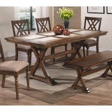 best selling home allensworth rectangular dining table hayneedle