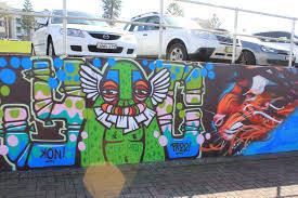 Surf Mural by Roxy News Surf Stay Play Bondi Australia Roxy