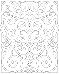 13 images of coloring pages hearts and flower patterns heart