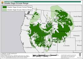 Map Of Idaho And Utah by Greater Sage Grouse Maps