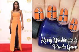 emmy awards 2014 fashion inspired nails peachy polish bloglovin u0027