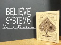 believe cards system 6 magic deck review