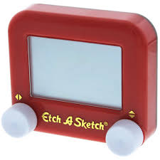 pocket etch a sketch classic drawing toy vintage toys u0026 games