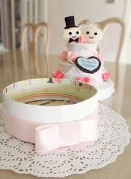felt wedding cake gift box how to make a decoration needlework