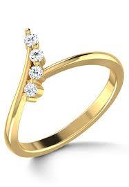 diamond studded american diamond studded ring jvr150