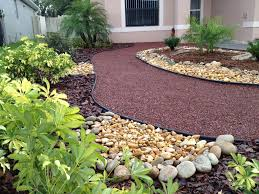 Florida Landscaping Ideas by Perfect For Us Small Front Yards Landscape Without Grass Front